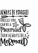 Lbonb Mermaid Wall Sticker Sempre Essere Una
