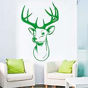 (Lbonb) Più Nuovo Art Stickers Murali Stags