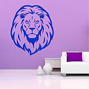 (Lbonb) Rimovibile Art Lion Head Animal