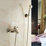 Stai cercando flessibili doccia oro lionshome - Rubinetto a parete bagno ...