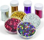 Lebez Glitter Set Porporina + Decorazioni In
