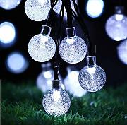 Led Solar Crystal Ball Light String Bubble Ball
