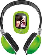 LETTORE MP3 VIDEO E CUFFIA TREVI VERDE MPV 1740HE