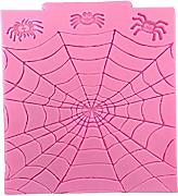 Lhuaguo Halloween ragno web stampo in silicone DIY