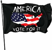 LL-Shop America Vote for It 3x5 Ft Us Flag Garden