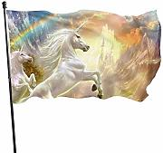 LL-Shop Bandiera 3 X 5 Ft Arcobaleno e Unicron