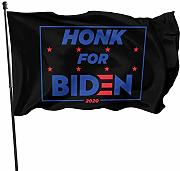 LL-Shop Honk for Biden Flags 3x5 Piedi Bandiera