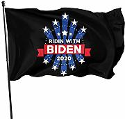 LL-Shop Ridin with Biden 2020 Flags 3x5 Piedi