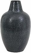 LOMBOK Howes Vase Vaso, Nero, Large