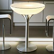 Lounge Table LED Pro luminoso multicolore, 105 cm