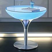 Lounge Table LED Pro luminoso multicolore, 75 cm