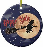 Lplpol Happy Yule Witch Xmas Ornamentsfor Holiday