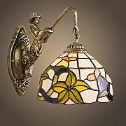 Luce a muro europeo Stained Glass pastorale