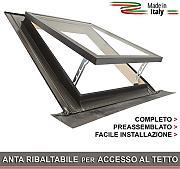Finestre velux confronta prezzi e offerte e risparmia for Finestre velux per accesso al tetto