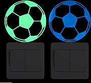 Luminoso Calcio Switch Sticker Home Decor