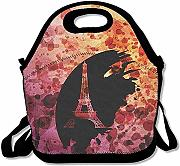 Lunch Bag Torre Eiffel A Parigi Frence Ink Design