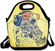 Lunch Tote Eagle Sunglass Cuffia Lunch Bag Borsa
