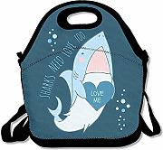Lunch Tote Lunch Tote Bag Shark Need Love Picnic