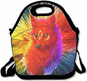Lunch Tote Lupo Colorato Fierce Eye Lunch Bag Tote