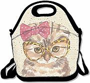 Lunch Tote Scottish Fold Cat Lunch Bag Tote