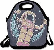 Lunch Tote Spaceman Swing Moon Contenitore Per