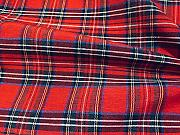 LushFabric Tartan Plaid Check Designer Fabric