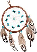 MagiDeal Naturali Turchese Dreamcatcher Home