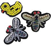MagiDeal Patch Applique Rhinestone Ricamo Bordato