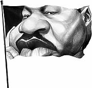 Martin Luther King Big Mouth divertente bandiera a