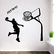 Mddjj Justdoit Boy Wall Sticker Rimovibile
