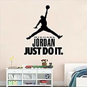 Mddjj Sport Carattere Wall Sticker Boy Sticker