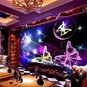 Meaosy Grande Shinning Butterfly Flying Ktv 3D
