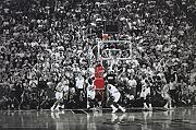 Michael Jordan/Last Shot Title Winning Last Shot