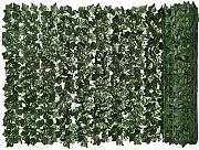 MICHAELA BLAKE Siepe Artificiale Green Leaf Faux