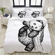 MOBEITI Set Biancheria da Letto,Animal Cute Little