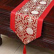 Modern Wedding Table Banner Banner Elegante Stile
