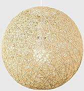 Moderna Media Vimini Rattan Sfera In Stile