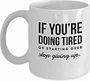 Motivational Morning Workout Coffee Mug Funny