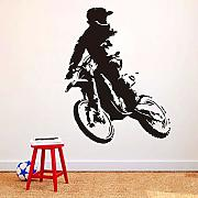 Motor Stunt Motorcycle Wallpaper Home Decor