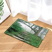 Mountain Forest Decor Pietra Scale Percorso in