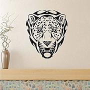 Mrhxly African Animal Leopards Head Wall Stickers
