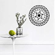 Mrlwy  Mandala Wall Stickers PVC Yoga Decorazioni