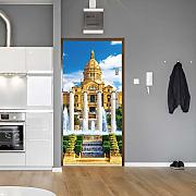 Murales Poster Per Porte 80X210CM Fountain Palace