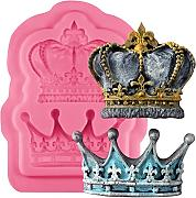 Musykrafties Royal Crown fondant Candy stampo in