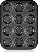 Mylifeunit Nonstick 12-cup mini muffin cupcake pan