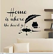 Myvovo Home Is Where The Heart Is Quotes Wall