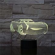 new Luce notturna 3D Super Cool Car Touch