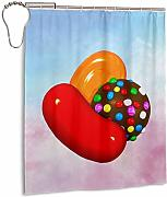 ngquzhe Candy Crush Candy Tenda da Doccia con