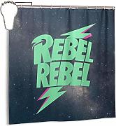 ngquzhe Tenda da Doccia Rebel Be Rebel con