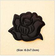 No brand Jubaren7 Black Rose (Dimensioni: 6x7cm)